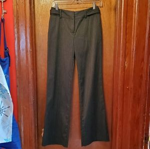 Charcoal Grey Pinstriped BCX Dress Pant
